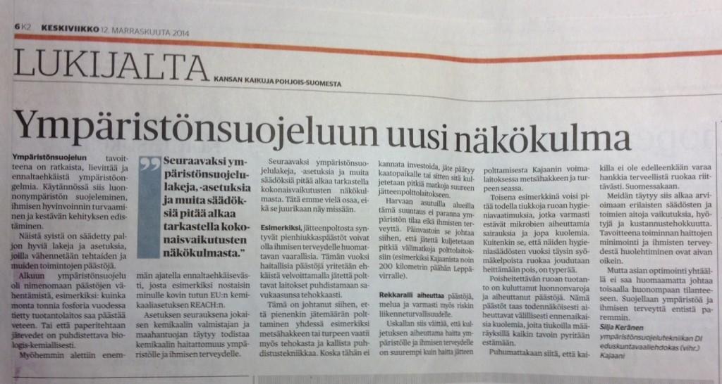 2014-11-Kaleva-Ympäristönsuojelu