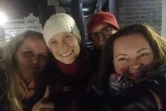 Oulussa Vihreiden vaalijuhlien jälkeen